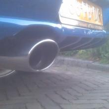 STI achterlichten, Magnex demper en custom achterbumper